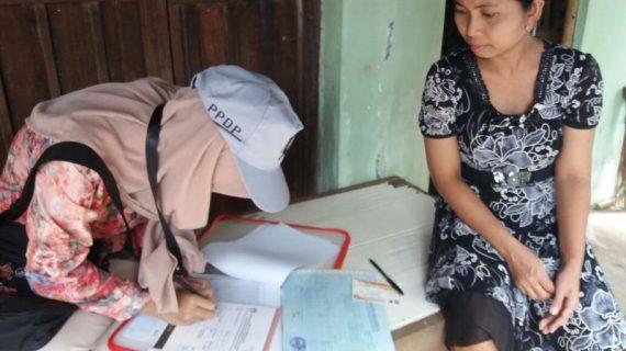 Petugas Pemutakhiran Data Pemilih (PPDP) RW-3 Pasuruhan Lor Siap Bertugas