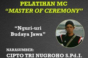 Pelatihan Master of Ceremony (MC) di Pasuruhan Lor, Kudus